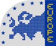 Euro icon Stock Photos