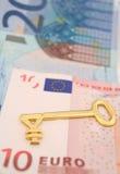 Euro--ienes dos estrangeiros Fotos de Stock Royalty Free