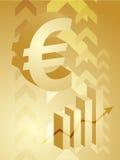 Euro illustrazione di successo illustrazione vettoriale