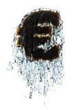 Euro im Wasser Lizenzfreie Stockbilder