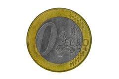 Euro inflatie Royalty-vrije Stock Foto's