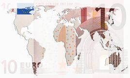 Euro influence Stock Photos