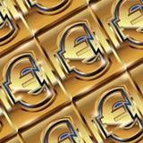 Euro ingot Stock Images