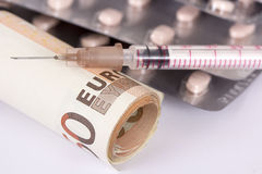 Euro Injection Stock Images
