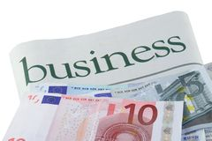 Euro Investment Royalty Free Stock Photos