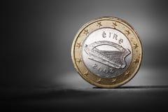 Euro irlandés Fotos de archivo libres de regalías