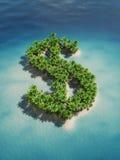 Euro island Stock Images