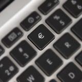 Euro keyboard symbol Royalty Free Stock Images