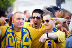 Euro-2012 in Kiev Royalty Free Stock Photo