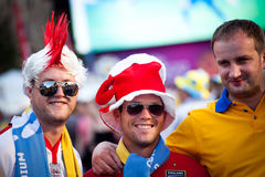 Euro-2012 in Kiev Royalty Free Stock Photography
