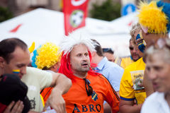 Euro-2012 in Kiev stock photography