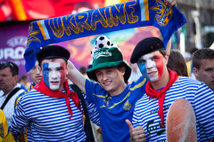 Euro-2012 in Kiev royalty free stock image