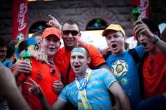 Euro-2012 in Kiev Stock Images