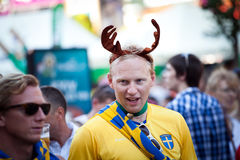 Euro-2012 in Kiev Royalty Free Stock Photos
