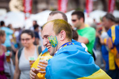 Euro-2012 in Kiev royalty free stock photos