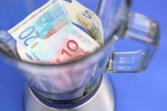 Euro kryzys obraz stock