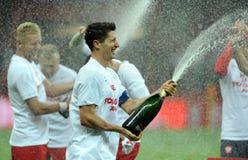 EURO 2016 Kwalifikacyjnych Round Polska vs ryps irlandia Zdjęcia Stock