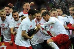 EURO 2016 Kwalifikacyjnych Round Polska vs ryps irlandia Fotografia Stock