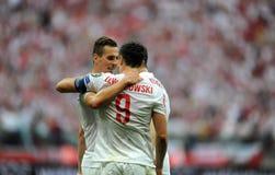 EURO 2016 kwalifikuje Polska vs Gruzja Zdjęcie Stock