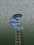 Euro ladder Stock Photos