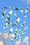euro latać Zdjęcie Royalty Free