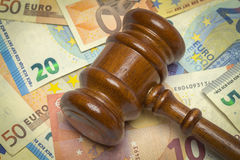Euro Law stock photography