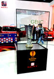 Euro league cup stock photography