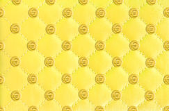 Euro  leather background Royalty Free Stock Photography