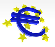 Euro logo bce Royalty Free Stock Images