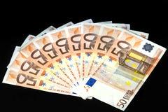 50 Euro Stock Photography