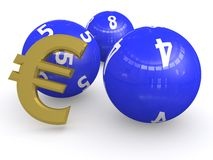 Euro lottery  Royalty Free Stock Photo