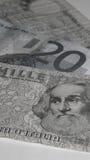Euro - lyre - améliorez avant ou après Photographie stock