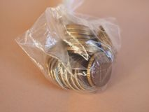1 euro menniczy, Europejski zjednoczenie Obrazy Royalty Free