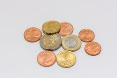 Euro merkt Geld Stockbilder