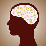 Euro Mind Royalty Free Stock Images