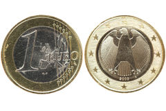 Euro- moeda Imagem de Stock Royalty Free