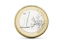 Euro- moeda Imagens de Stock Royalty Free