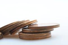 Euro- moedas do centavo Imagem de Stock