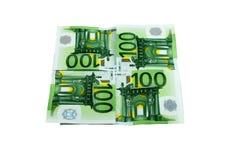 euro monay Arkivbilder