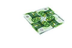 euro monay Arkivfoto