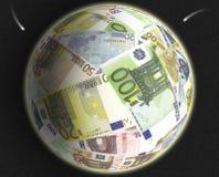 Euro mondo Fotografie Stock Libere da Diritti
