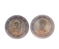 Euro monete Immagine Stock Libera da Diritti