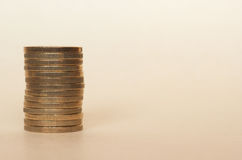Euro monete di EUR, Unione Europea UE Fotografia Stock Libera da Diritti