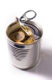 Euro monete in scatola separate Immagini Stock Libere da Diritti
