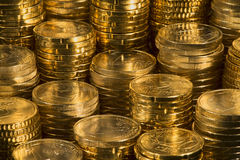 Euro monety Zdjęcia Royalty Free