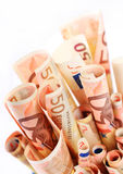 Euro money. stock images
