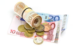 Euro money Stock Photos