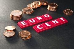 Euro economy Royalty Free Stock Images