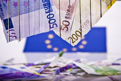 EURO / Money Royalty Free Stock Photography