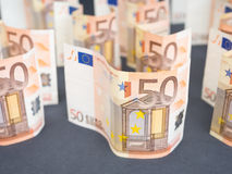 Euro money abstract Stock Images